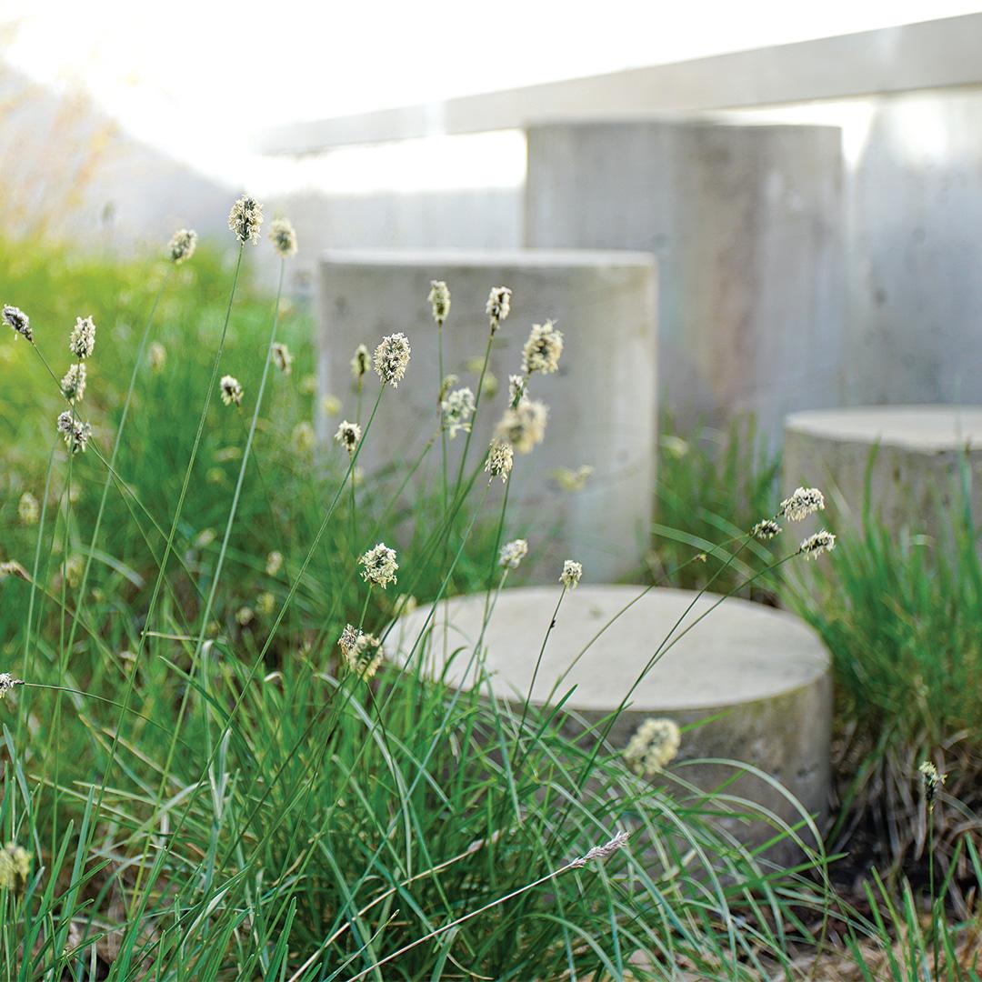 concrete garden structures