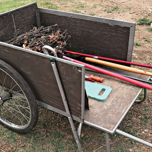 A Garden Cart You Can Count On
