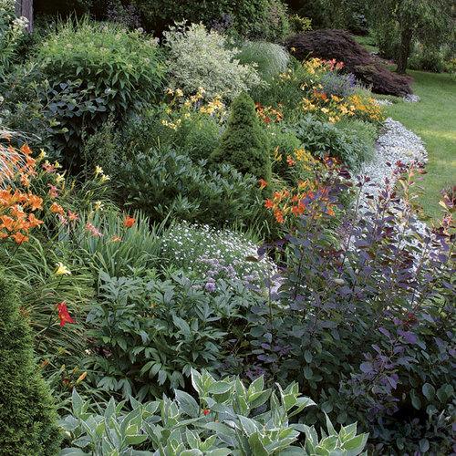 How to Reduce Maintenance - FineGardening Naturalized Woodland Garden Slope Design on woodland garden area, woodland garden trail, woodland garden shade, woodland garden stream,