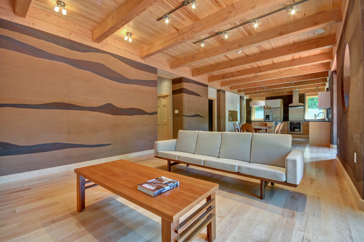 Rammed Earth House Fine Homebuilding