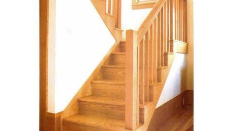A Site Built Stair Fine Homebuilding