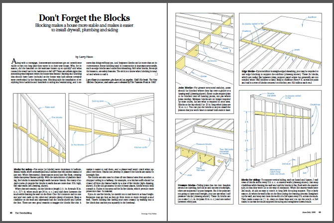Don't-forget-the-blocks magazine spread