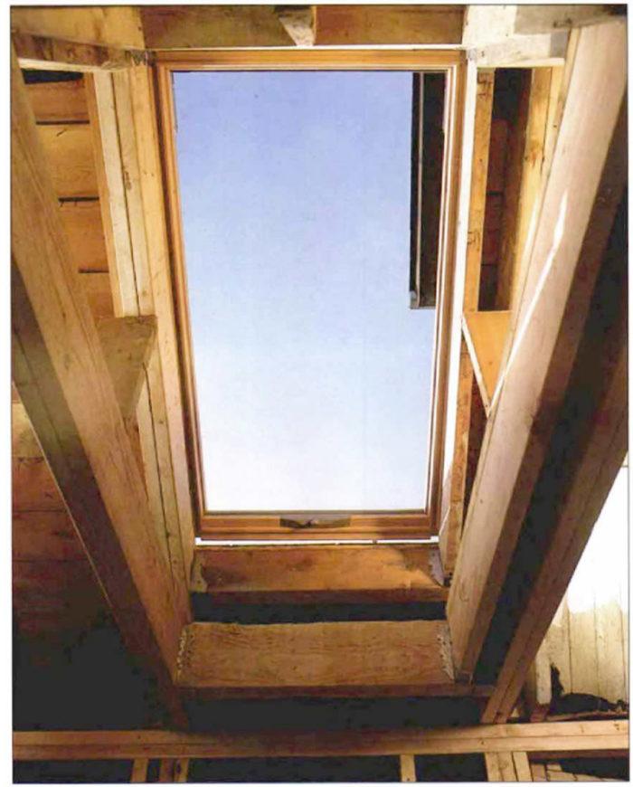 Framing for skylights fine homebuilding for Skylight framing
