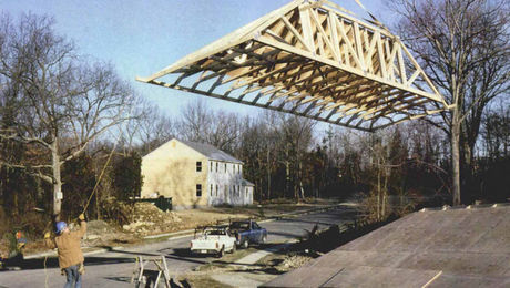 Building Hip And Valley Roofs With Trusses Fine Homebuilding