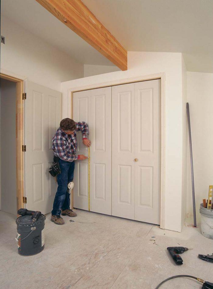 The door closest to the jamb in a pair of bifold doors is called the pivot door.