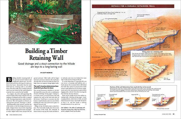Timber Retaining Wall PDF Thumbnail