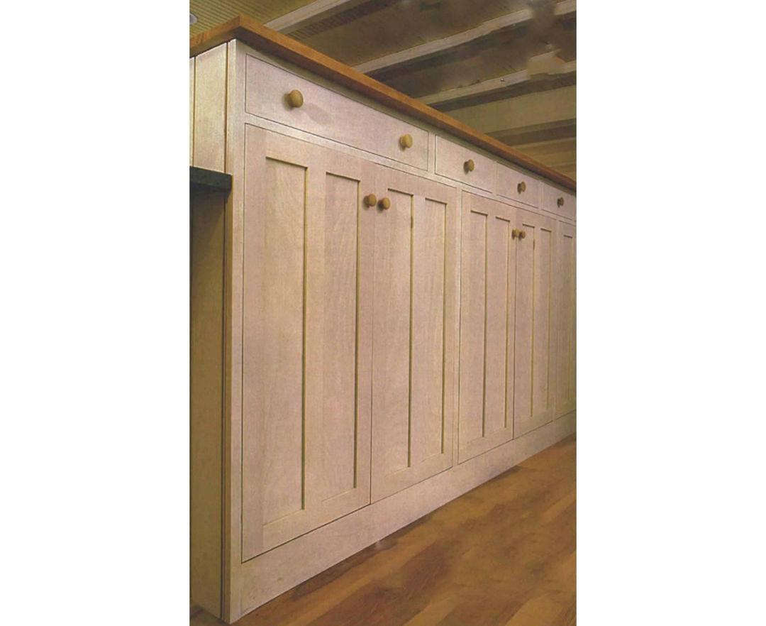 Building kitchen cabinets on site fine homebuilding