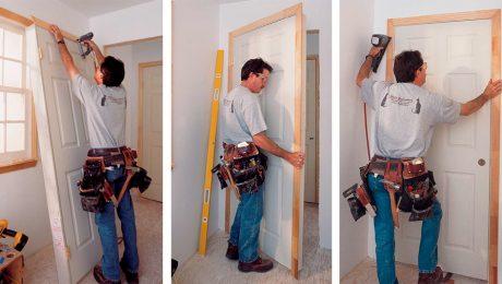 Setting Prehung Doors