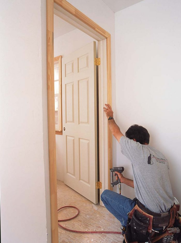 Tight miters are the only challenge on the stop side