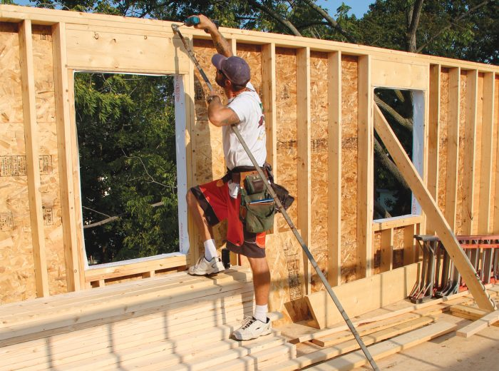 Anatomy Of A Stud Framed Wall Fine Homebuilding