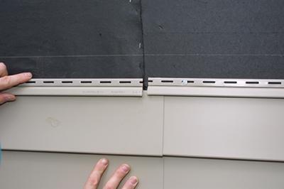 Image of overlapping vinyl panels
