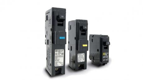 three circuit interrupters