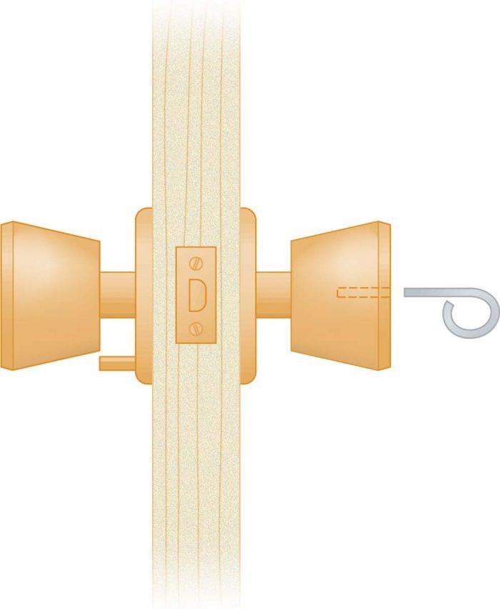 Privacy knob