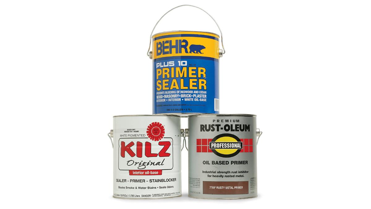 oil base primers
