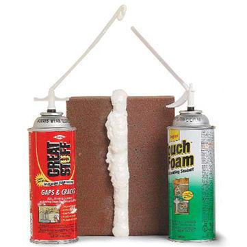 Polyurethane spray foams