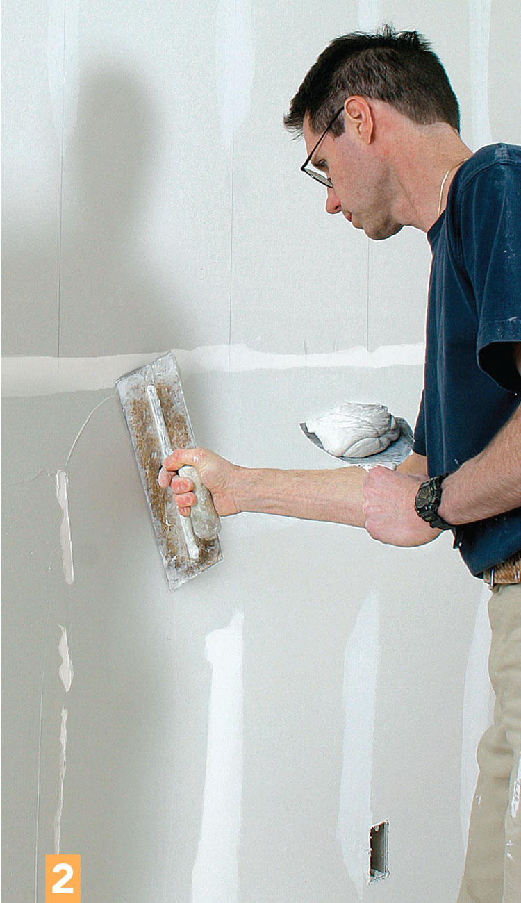 feathering drywall compound