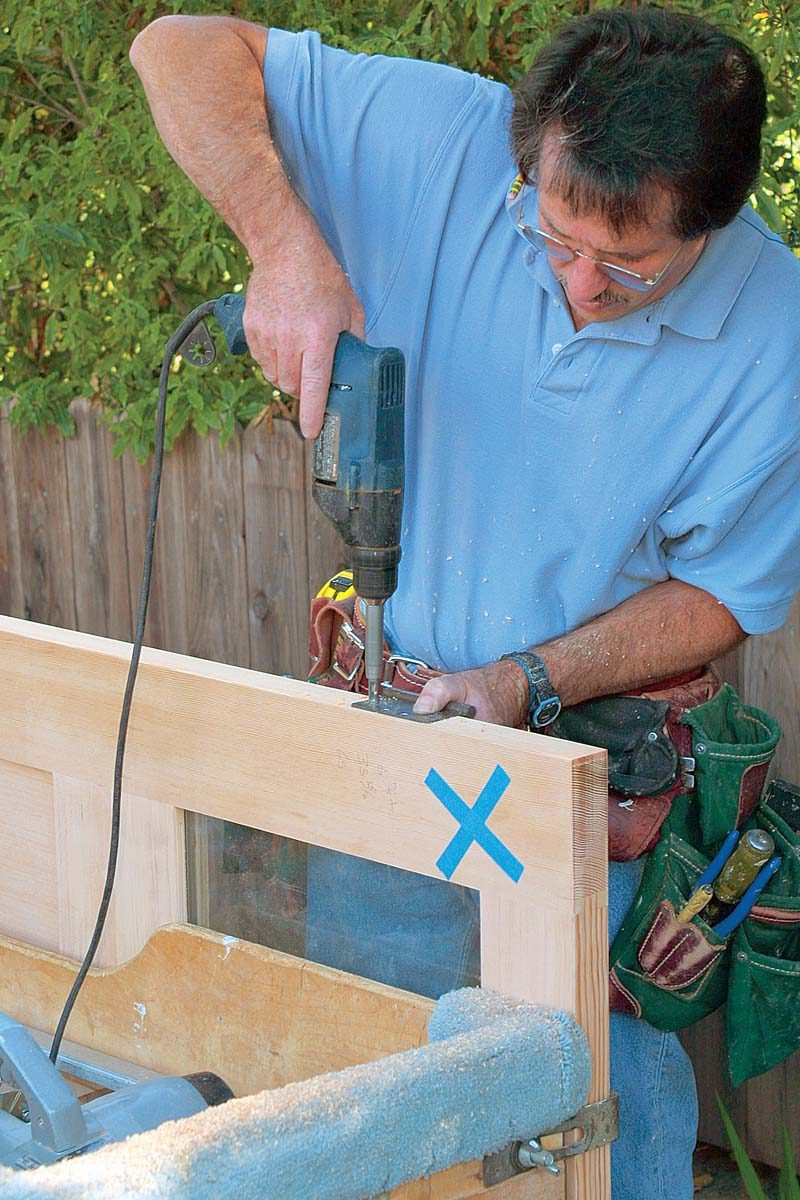 Bevel And Mortise The Hinge Edge