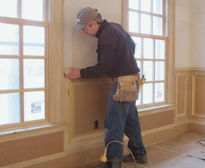Tremendous A Simple Approach To Raised Panel Wainscot Fine Homebuilding Download Free Architecture Designs Scobabritishbridgeorg