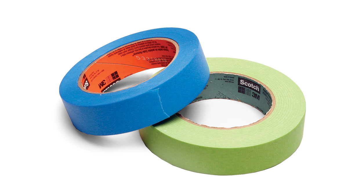 Long-lasting, low-tack tape is best (3M Corp.; 888-364-3577; www.3m.com)