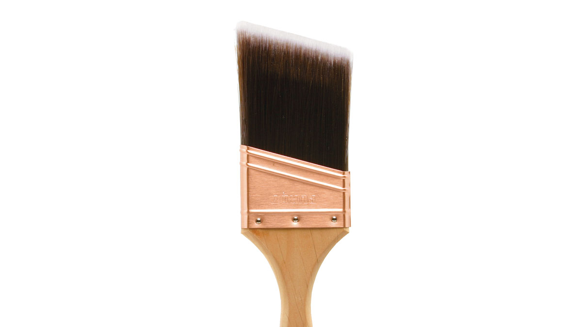 A $15, 3-in. tapered nylon bristle brush