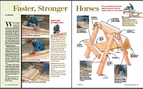 stronger faster horses magazine spread