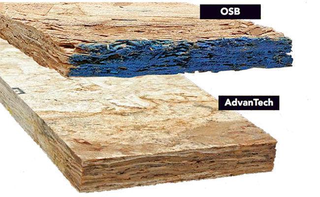 OSB vs AdvanTech