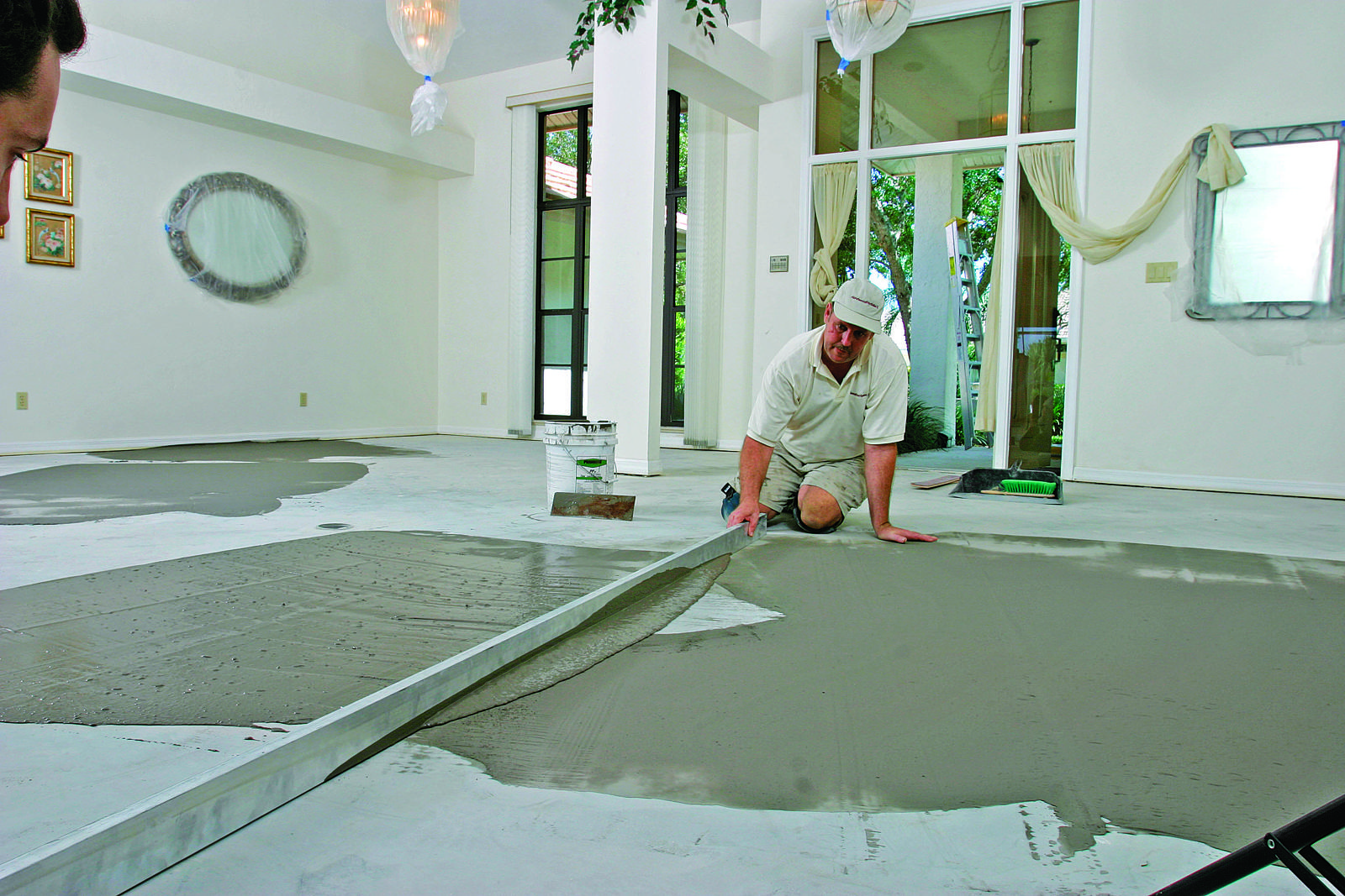 Glue Wood Flooring Concrete Slab Fine Homebuilding