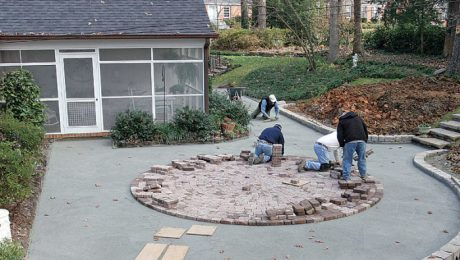 How to Build Patios, Walkways, and Driveways - Fine Homebuilding