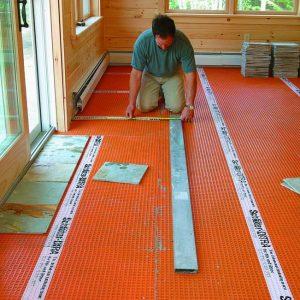measure tile layout