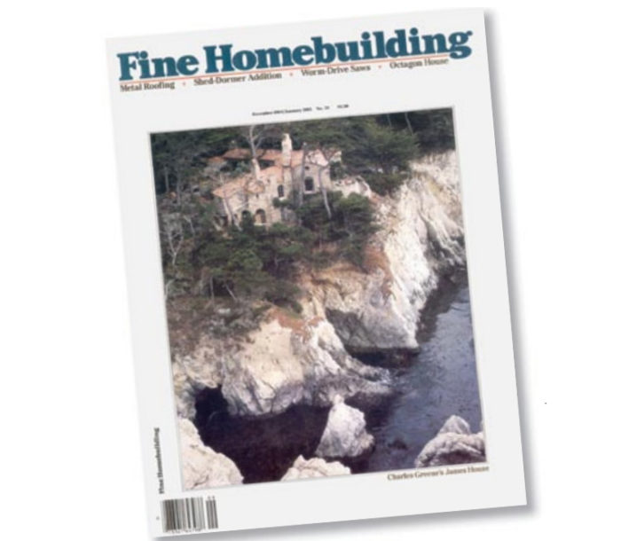 The Magazine You Built Fine Homebuilding