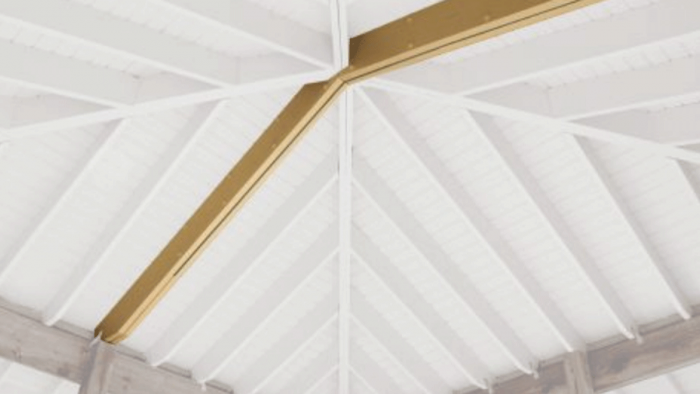 Open Up A Ceiling With A Steel Sandwich Fine Homebuilding