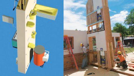 plumbing core modular