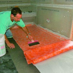 large sheet of barrier-free membrane