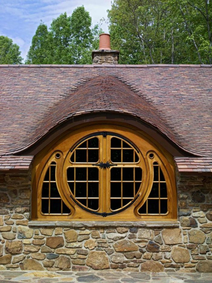 hobbit house butterfly window
