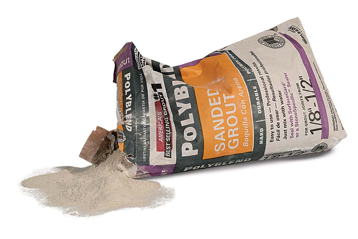 Custom Building Products Polyblend (25 lb.), $12