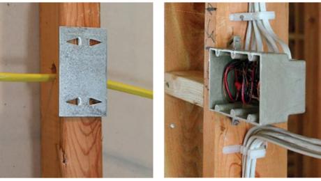 nail plates protect wiring