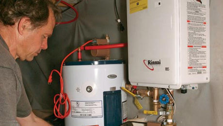 Why Add A Tank To A Tankless Water Heater Fine Homebuilding