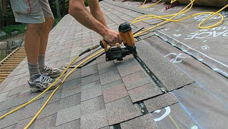 Hard-to-miss roof shingles