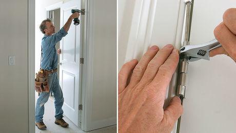 Hinge Adjustment For A Door S Final Fit Fine Homebuilding