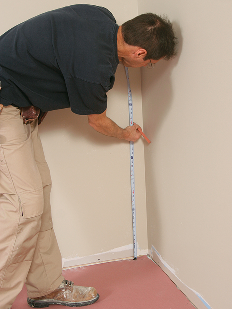 measuring for wainscoting