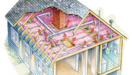 adding attic insulation
