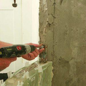panel anchors for glass-block reinforcement
