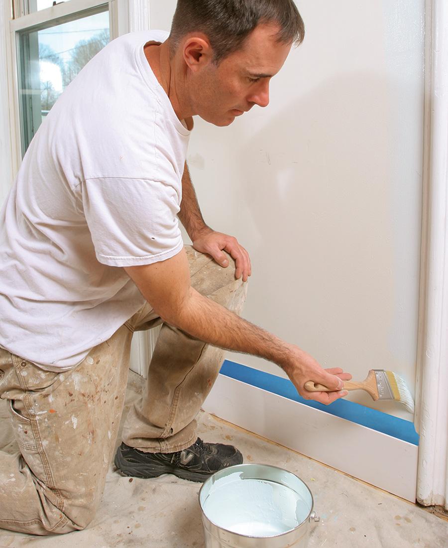 applying paint primer