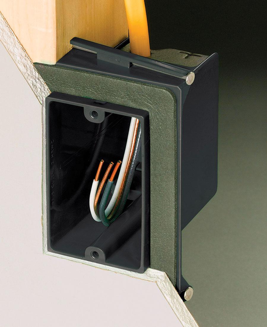 Thomas & Betts vapor-barrier box