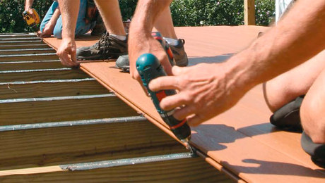 Grooved Decking fasteners