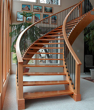Laminating Curved Stair Stringers - Fine Homebuilding