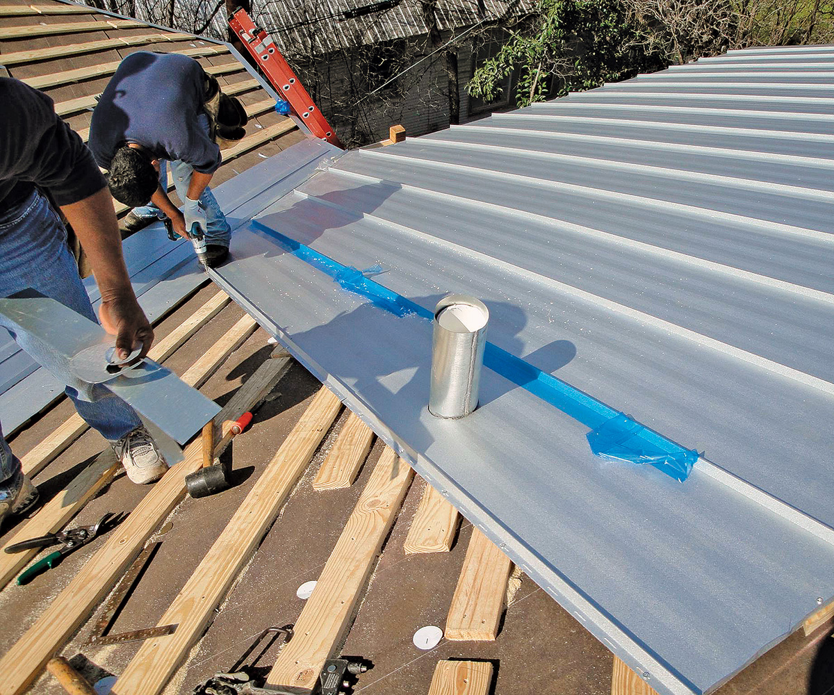 angled roof battens