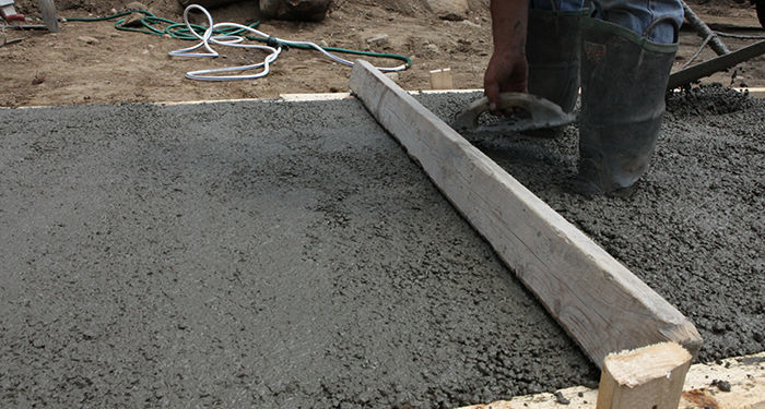 Fill and screed