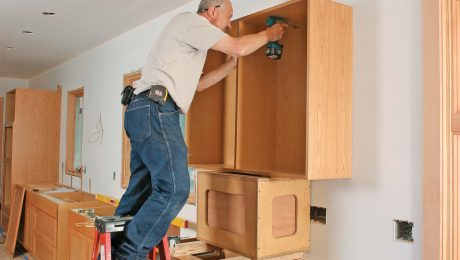 installing-stock-cabinets