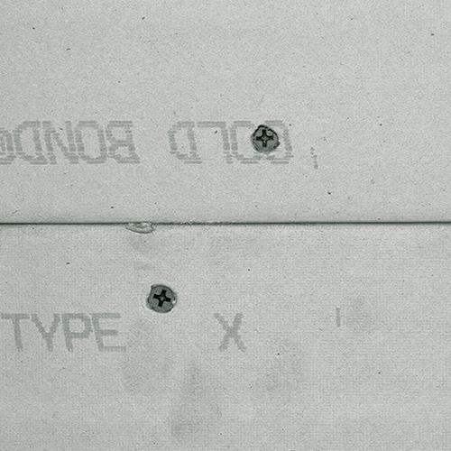 Gypsum-board finish level 0